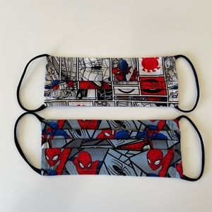 Face Mask-2 pack Spiderman Pattern
